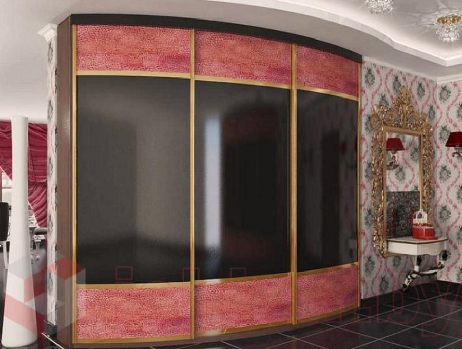 Радиусный шкаф-купе №13