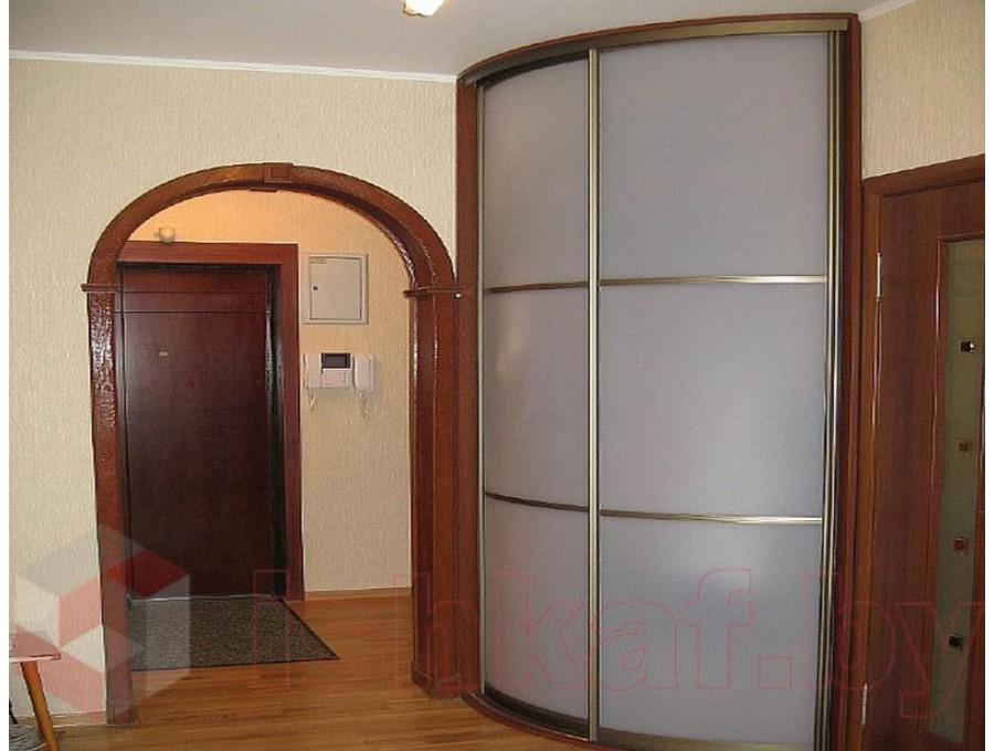 Радиусный шкаф-купе №07