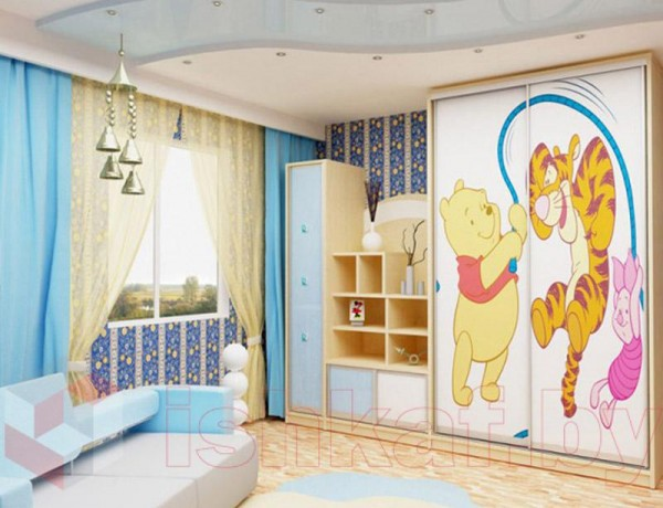 Шкаф-купе в детскую №09