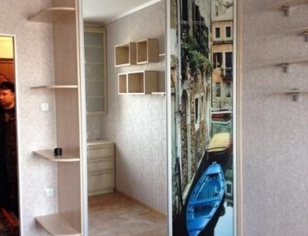 Двухдверный шкаф-купе №18